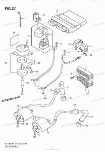 Suzuki Motorcycle 2006 Oem Parts Diagram For Electrical