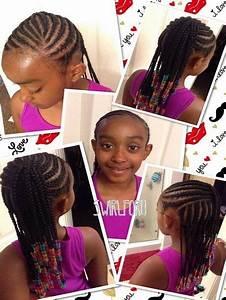 Coiffure Enfant Tresse : photo tresse africaine pour petite fille coiffure tresses enfants filles coiffure coiffure ~ Melissatoandfro.com Idées de Décoration