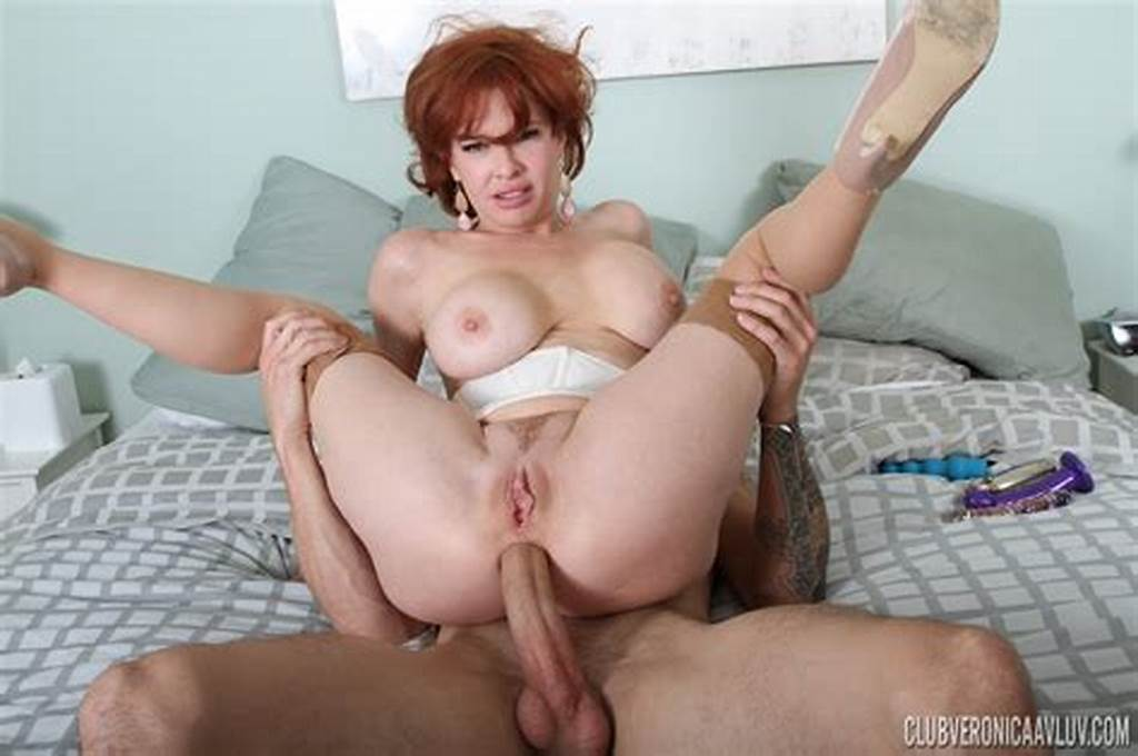 #Mature #Redhead #Milf #Enjoying #Double #Penetration