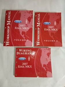 2007 Ford Edge Lincoln Mkx Service Shop Repair Manuals Vol