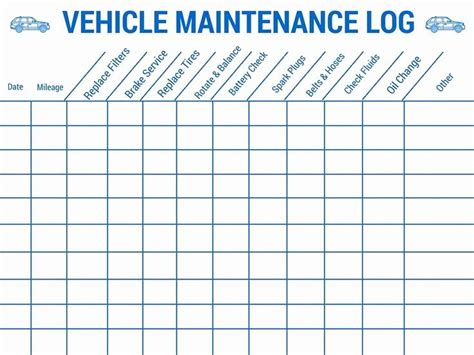 Automatically alert due maintenance & plan preventive maintenance schedule using excel. 30 Vehicle Maintenance Schedule Template Excel in 2020 | Vehicle maintenance log, Car ...