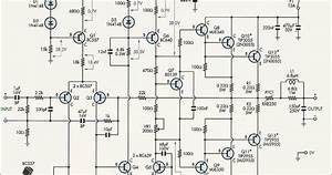 2n3055 Mj2955 Amplifier Circuit