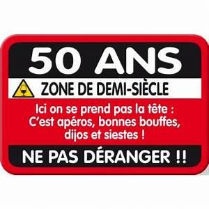 Cadeau Homme 50 Ans : plaque de porte 50 ans ~ Medecine-chirurgie-esthetiques.com Avis de Voitures