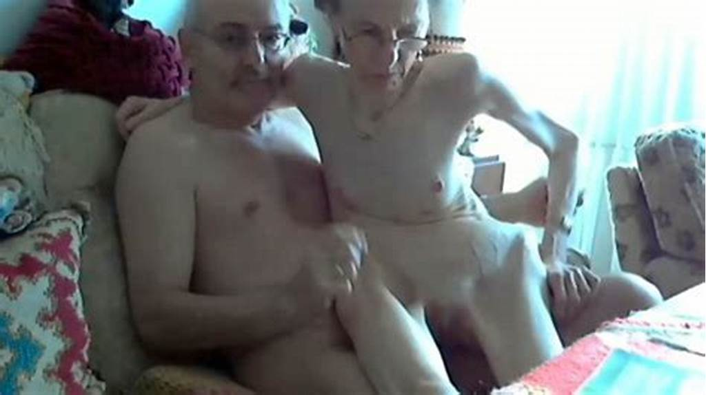 #Skinny #Granny #Rides #Her #Husband #In #Webcam #Show