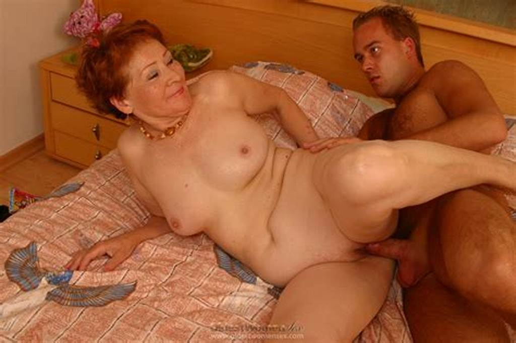 #Naughty #Old #Woman #Enjoys #A #Young #Throbbing #Cock