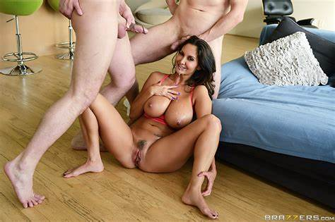 Caught Threesome Cock In Double Lace Tumblr Ava Addams Threesome Destroyed