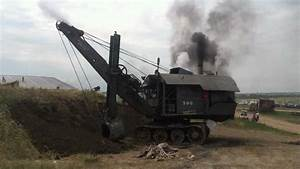 Steam shovel moving earth at WMSTR Rollag 2012 - YouTube