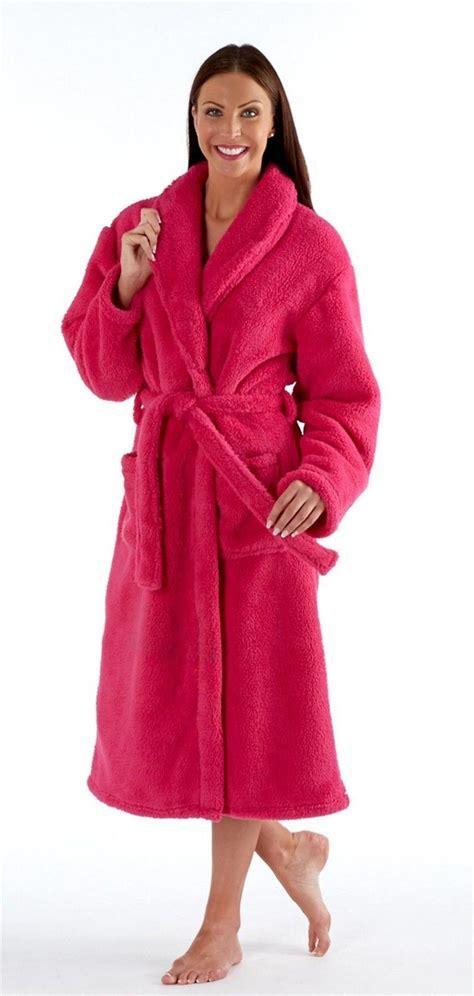 robe de chambre chaude femme robe chambre femme polaire longue