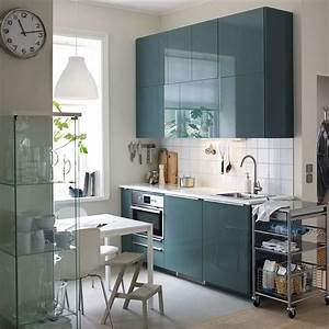 Cuisine Bleue Ikea : cucine di 2 metri lineari per piccoli spazi ~ Preciouscoupons.com Idées de Décoration