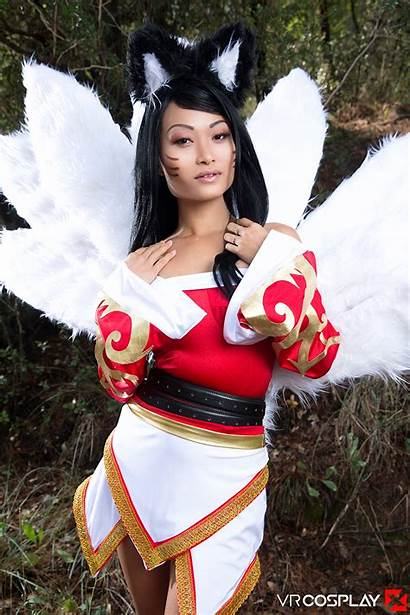 Cosplay Legends Ahri League Vr Pussy Cream