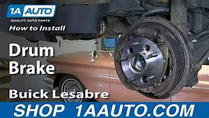 How To Install Do A Rear Drum Brake Job 1993