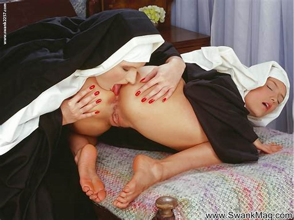 #Smoking #Hot #Nuns #Stripping #Each #Other #And #Having #Lesbian