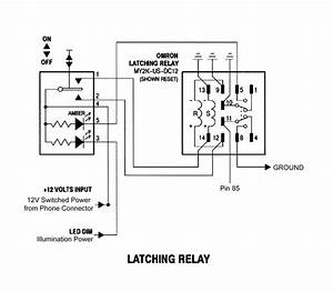 11 Pin Latching Relay Wiring Diagram Schematic