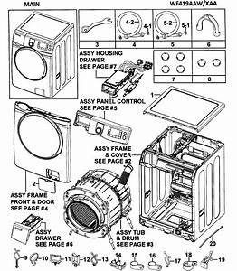 31 Samsung Front Load Washer Parts Diagram