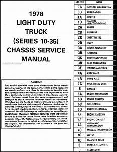 1978 Chevy K10 Wiring Diagram