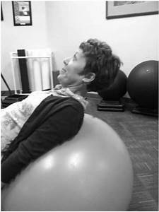 Deep Neck Flexor Progression On An Exercise Ball  The
