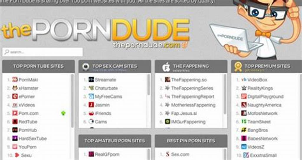#The #Porn #Dude #Lists #The #Best #Porn #Sites