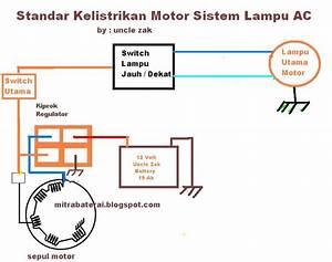 Solusi Battery  Cara Gratis Modif Lampu Motor Bisa Full Dc