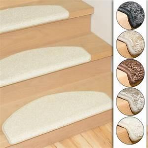 Stufenmatten Set 15 Teilig : 15er set qualit ts stufenmatten shaggy in 5 verschiedenen farben ebay ~ Whattoseeinmadrid.com Haus und Dekorationen
