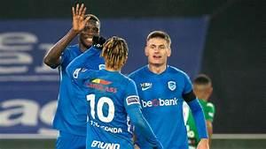 D1a  Genk Humilie Le Cercle Et D U00e9loge Provisoirement Le Club De Bruges De La Premi U00e8re Place
