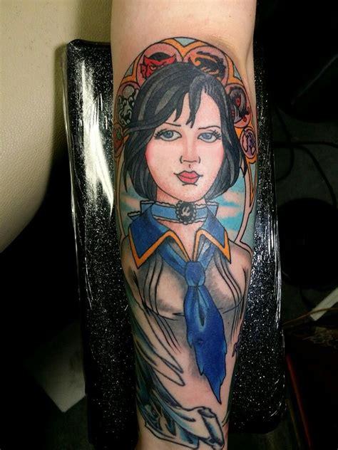 foto de Elizabeth Bioshock Infinite Tattoo by Steve Rieck from Las