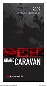 Dodge 2009 Grand Caravan C  V Van Quick Reference Guide