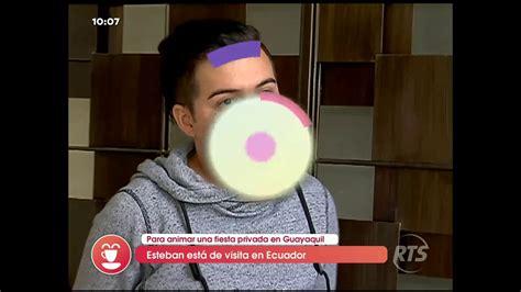 """Esteban famoso por """"Caso Cerrado"""" está de visita en"""
