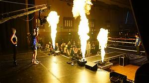 Stage Flame Hire
