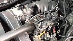 Delica L300 4d56 Engine Run
