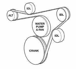 2009 Honda Civic Serpentine Belt Diagram
