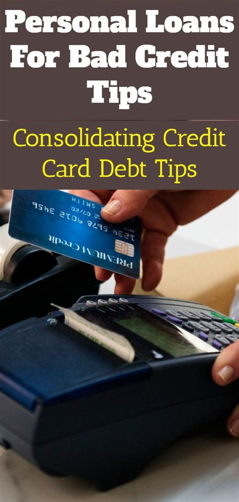 They wish to pay it off in one shot and was going to via cheque. Poor credit debt consolidating loans. Debt Consolidation ...