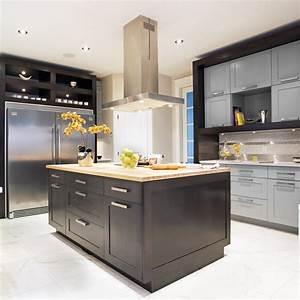 cuisine tendance intemporelle cuisine inspirations With couleur de meuble tendance 9 les poignees