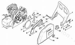Wiring Diagram  12 Stihl 009 Chainsaw Parts Diagram