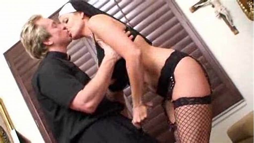 #Naughty #Nun #Slut #Fucked #By #The #Horny #Priest
