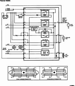 1993 Ford Taurus  Relay Controller  Wiring Diagram Please