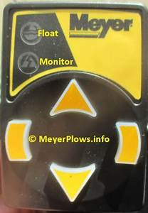 Meyer Touchpad Controller 22154  22154x
