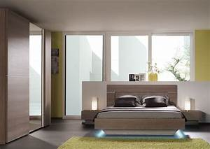 Meuble Pour Chambre : chambre adulte mobilier et literie ~ Teatrodelosmanantiales.com Idées de Décoration