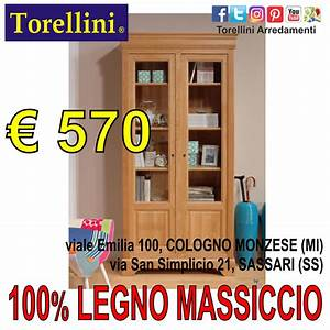 Mobili A Milano In Legno Massello