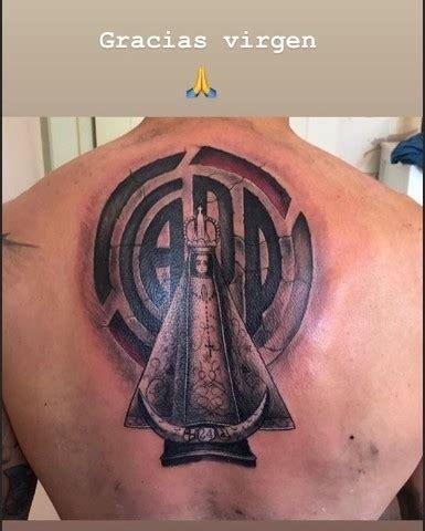 Otra promesa más: ¡Enzo Pérez y un imponente tatuaje en su