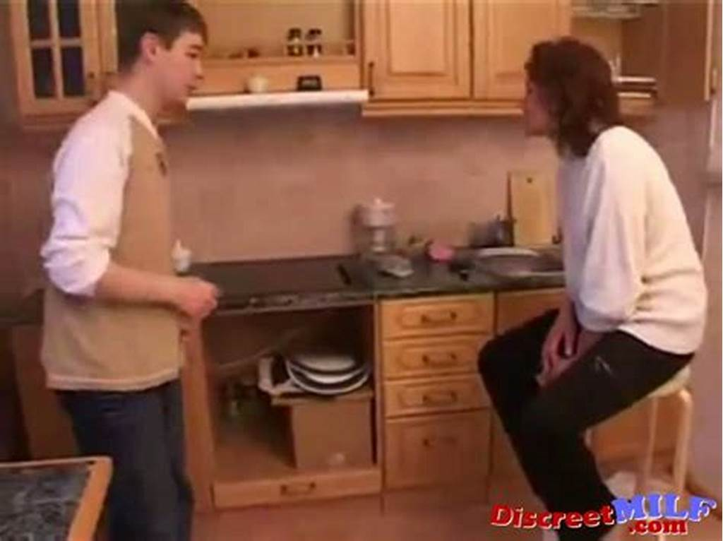 #Stepmom #And #Stepson #Have #A #Sex #On #The #Kitchen