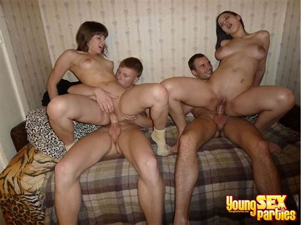 #Cuties #Stand #In #Different #Positions #During #Young #Sex #Party