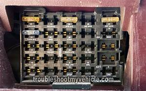 1993 Instrument Panel Fuse Box  Gm 4 3l  5 0l  5 7l