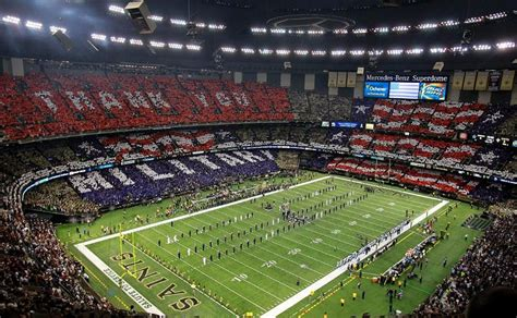 It primarily serves as the home venue for the new orleans saints of the national football league (nfl). Mercedes Benz Superdome Week 10 New Orleans Saints vs Dallas Cowboys November 10th 2013 | Nfl ...