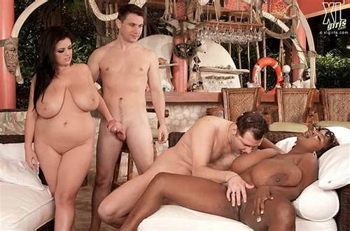 Foursome Sex With Four Bigbreasted Angels #Huge #Black #And #White #Boobs #Fucked #In #Group #Sex #Action