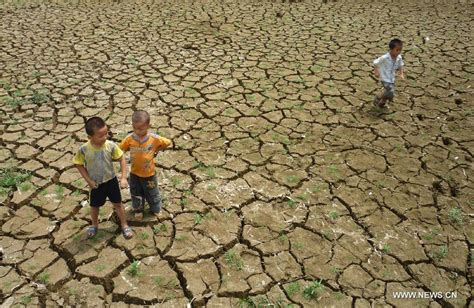 baise bureau sustained drought affects baise of guangxi china org cn