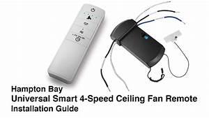 Hampton Bay Ceiling Fan Remote Control Wiring Diagram