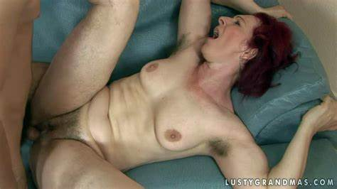 Fragile Mature Ginger Cumshot