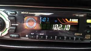 Sony Cdx-c5000r In Renault Megane Coupe - No Sound