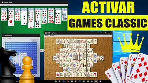 Descarga juegos a tu tableta o pc con windows en cuestión de segundos. ACTIVAR JUEGOS CLASICOS EN WINDOWS 10 \8\8.1 || JUEGOS DE ...