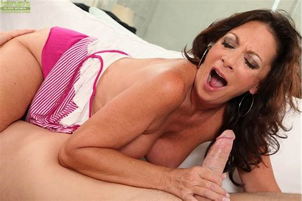 #Big #Busted #Mom #Gives #A #Fervent #Blowjob #And #Gets #Fucked #For